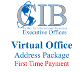 Center For International Business - Virtual Office - Address Package