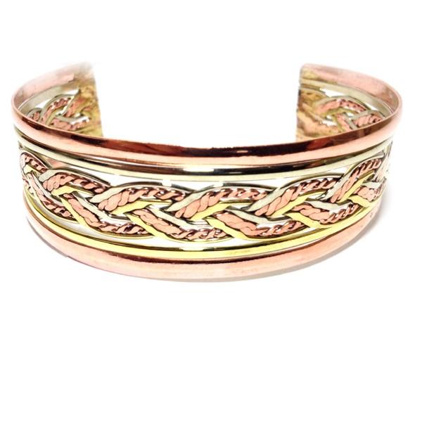 HPSilver: Copper Cuff Bracelet (oli-br-0004)