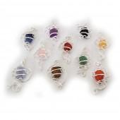 HPSilver : Gemstone Art Pendant 100 Pack