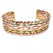 HPSilver: Copper Cuff Bracelet (oli-br-0008)