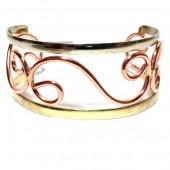 HPSilver: Copper Cuff Bracelet (oli-br-0010)