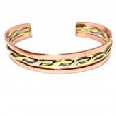 HPSilver: Copper Cuff Bracelet (oli-br-0014)