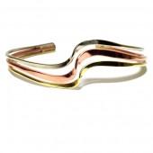 HPSilver: Copper Cuff Bracelet (oli-br-0020)
