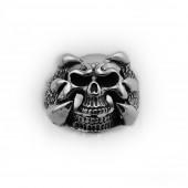 HPSilver, LLC : Sterling Silver Skull Ring cha-rg-107