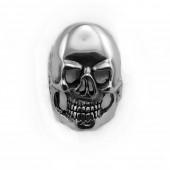 HPSilver, LLC : Sterling Silver Skull Ring cha-rg-112