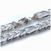 Silver Figaro Chain 10mm