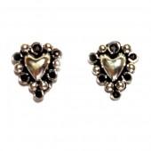 HPSilver: Silver Stud Earrings (emm-er-017)