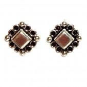 HPSilver: Silver Stud Earrings (emm-er-019)