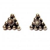 HPSilver: Silver Stud Earrings (emm-er-021)