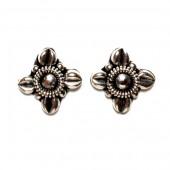 HPSilver: Silver Stud Earrings (emm-er-024)