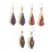 HPSilver, LLC : Dried Flower Earring (EUG-ER-100) 10 Pack