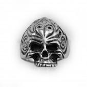 HPSilver, LLC : Sterling Silver Skull Ring cha-rg-103