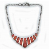 Spiny Oyster Shell Necklace (HPS-NC-003)