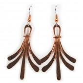 HPSilver: Copper Earrings (lor-er-009)