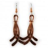 HPSilver: Copper Earrings (lor-er-010)