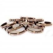 HPSilver, LLV : Unique Leather Bracelet 10 ULB300